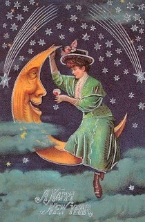 Happy-new-year-victorian-lady-on-moon