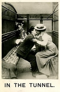 In the tunnel 1907