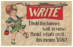 Please_Write_Vintage_Postcard