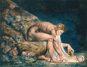 William Blake - Isaac Newton