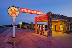 Petrified Wood Station - Texas