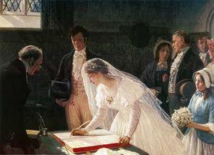 Edmund+Blair+Leighton+Signing+the+Register