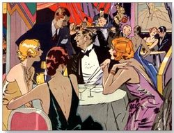 Evening Party Of Adults