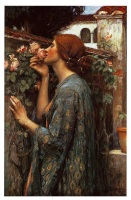 The-Soul-of-the-Rose-1908 John William Waterhouse