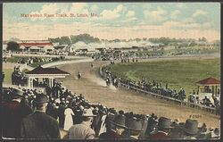 Jockey  1930s postcard