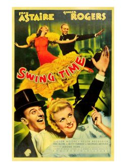 Ginger Rogers Fred Astaire Swing Time 1936