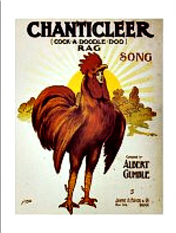 Postcard Chanticleer