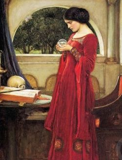 John Waterhouse The Crystal Ball