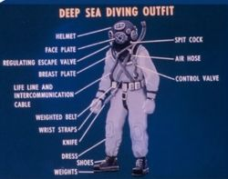 Deep Sea Diving Outfit