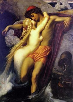 The Fisherman And The Siren - Lord Frederick Leighton