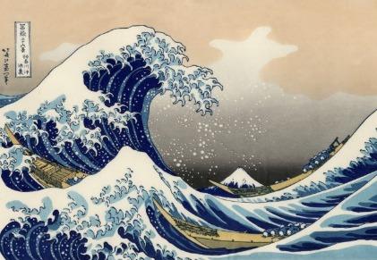 Mount Fuji wave