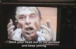 Mad as hell - Network Peter Finch