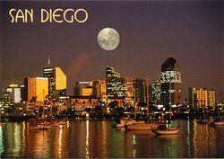 Moon - San Diego