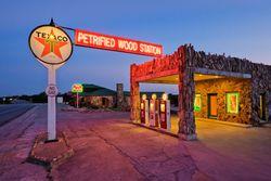 Petrified Wood Station - Texas