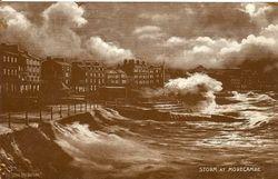 Violent Storm postcard