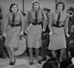 Andrews Sisters Bugle Boy