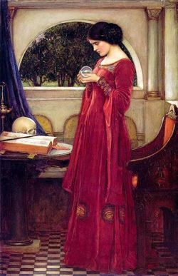 John_William_Waterhouse-The_Crystal_Ball