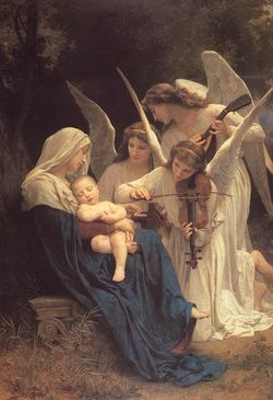 The Song of the Angels  William Bouguereau