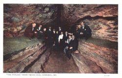 The Parlor at Mark Twain Cave Missouri MO