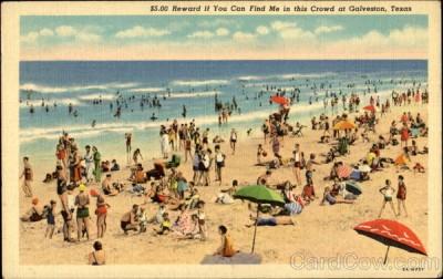 Crowd Upon A Beach