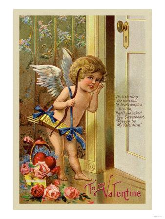Cupid knocking