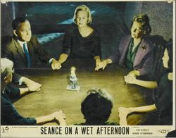 Materialising Medium Giving A Seance