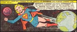 Lynda as supergirl