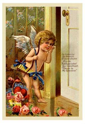 Cupid-knocking