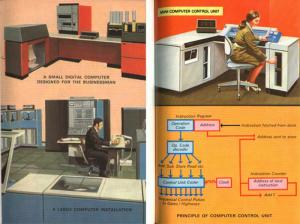 Big Businessman At His Desk Computer