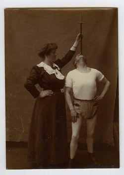 Sword Swallower 1910s