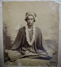 Hindu Yogi On Bed Of Nails