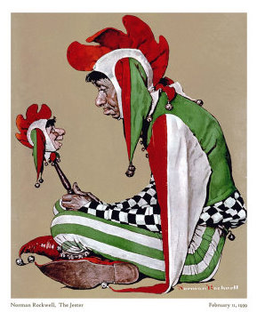 The Clown - Normal Rockwell