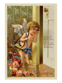 Cupid knocking