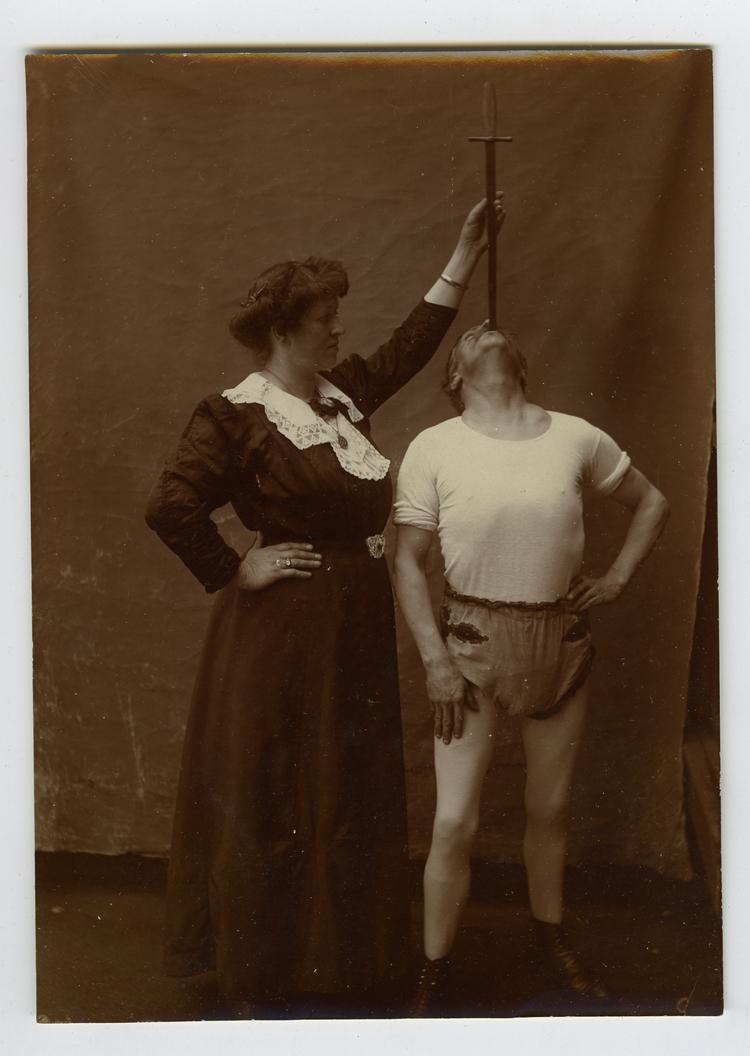 Sword Swallower, 1910s
