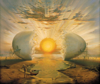 Vladimir Kush The Dawning Of A New Day