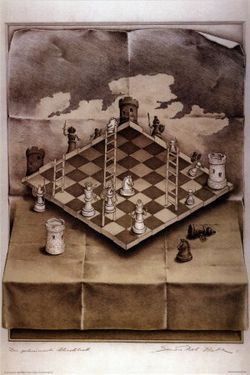 Illusion-chess-board
