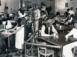 The Cafeteria - Disneyland