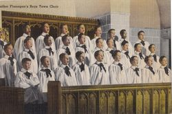 The Hidden Choir In A Church Service