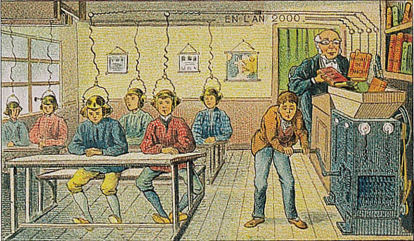 Teacher Instructing His Disciple