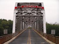 New Harmony bridge