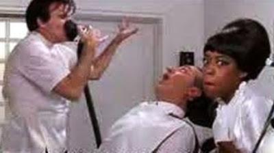 Steve Martin as The Dentist At Work