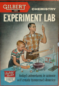 A Chemist Conducts An Experiment For His Students